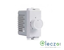 Schneider Electric Livia 1 Module White Fan Regulator 100 W, 5 Step