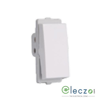 Schneider Electric Livia White Switch 10 A, 1 Module, 1 Way