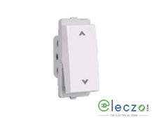Schneider Electric Livia White Switch 10 A, 1 Module, 2 Way