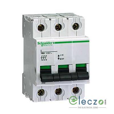 Schneider Electric Multi 9 MCB I Switch Isolator, 40 A, 3 Pole