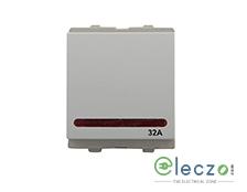 Schneider Electric Opale DP Switch 32 A, White, 2 Module