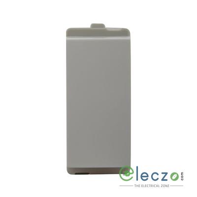 Schneider Electric Opale Coke Grey Switch 6 A, 1 Module, 1 Way