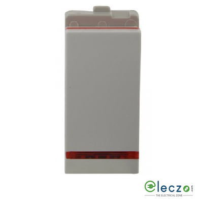 Schneider Electric Opale Coke Grey Switch 6 A, 1 Module, 1 Way, With Indicator