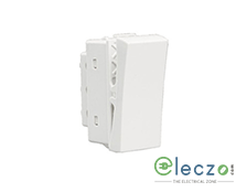 Schneider Electric Opale White Switch 6 A, 1 Module, 1 Way