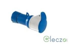 Schneider Electric Pratika Wander Socket 16 A, 2 Pole+E, IP 44, 200-250 V, Screw Type