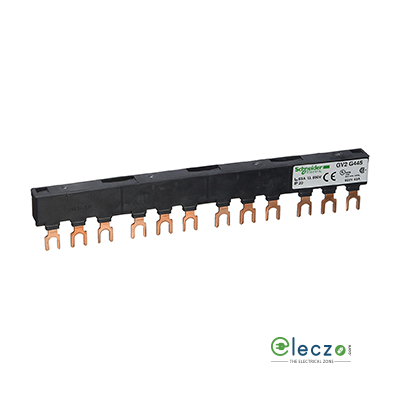 Schneider Electric TeSys Busbar For Parallelling, Suitable For LC1 D09 - 18 or D25 - D38 Tesys D 4 Contactor And GV2 Tesys D MPCB