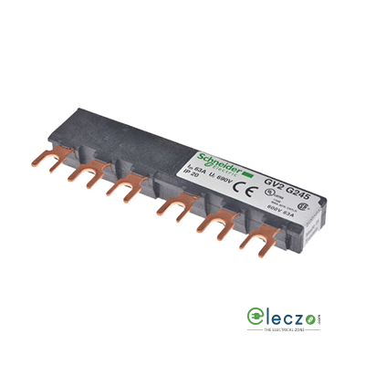 Schneider Electric TeSys Busbar For Parallelling, Suitable For LC1 D09 - 18 or D25 - D38 Tesys D 2 Contactor And GV2 Tesys D MPCB