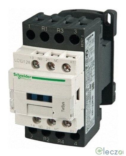 Schneider Electric TeSys Power Contactor - D Model 18 A, 3 Pole, 220 V AC, 1 NO + 1 NC, AC3 Duty