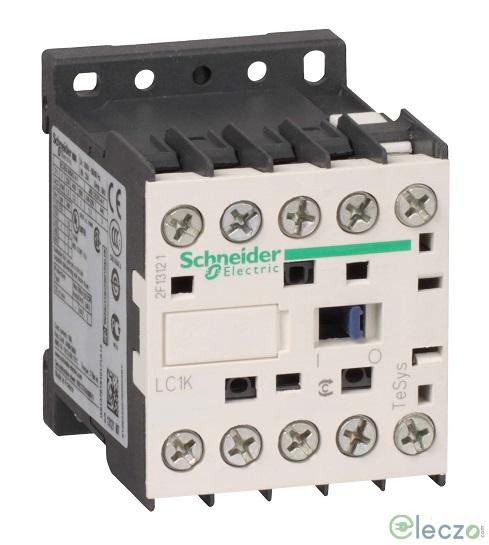 Schneider Electric TeSys Power Contactor - K Model 12 A, 3 Pole, 24 V DC, 1 NO, AC3 Duty
