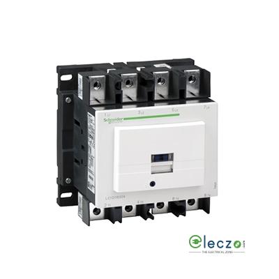 Schneider Electric Tesys Power Contactor - D Model 250 A, 4 Pole, 220 V AC, 4 NO, AC1 Duty