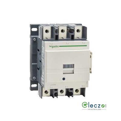 Schneider Electric Tesys Power Contactor - D Model 115 A, 3 Pole, 220 V AC, 1 NO + 1 NC, AC3 Duty