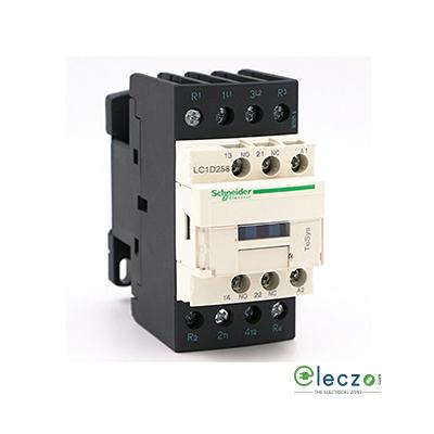 Schneider Electric Tesys Power Contactor - D Model 40 A, 4 Pole, 220 V DC, 2 NO + 2 NC, AC1 Duty
