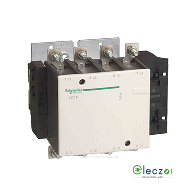 Schneider Electric Tesys Power Contactor - F Model 275 A, 4 Pole, 4 NO, AC1 Duty, Without Coil