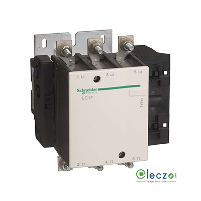 Schneider Electric Tesys Power Contactor - F Model 185 A, 3 Pole, AC3 Duty, Without Coil