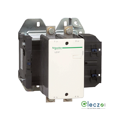 Schneider Electric Tesys Power Contactor - F Model 500 A, 2 Pole, 2 NO, AC1 Duty, Without Coil