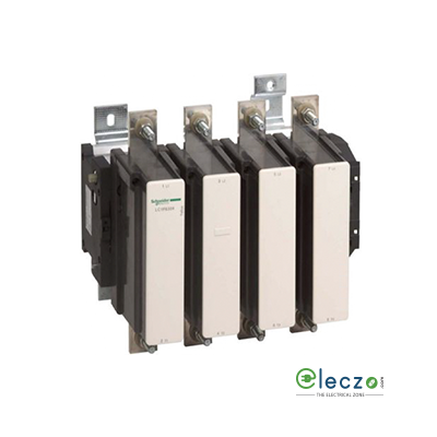 Schneider Electric Tesys Power Contactor - F Model 1000 A, 4 Pole, 4 NO, AC1 Duty, Without Coil