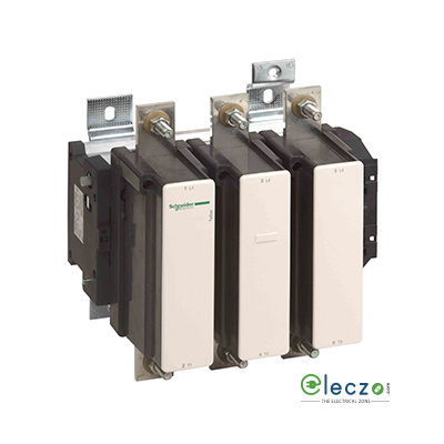 Schneider Electric Tesys Power Contactor - F Model 630 A, 3 Pole, AC3 Duty, Without Coil