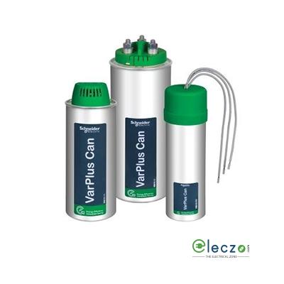 Schneider Electric VarPlus Can Gas Heavy Duty Round/Cylindrical MPP Capacitor 7.5 KVAr, 440 V AC, 3 Phase, 50 Hz