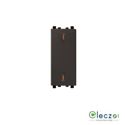 Schneider Electric ZENcelo 2G Switch 20 A, Dark Grey, 1 Module, 1 Way
