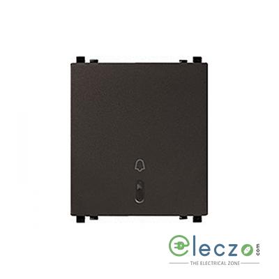 Schneider Electric ZENcelo Switch 6 A, Dark Grey, 2 Module, Bell Push