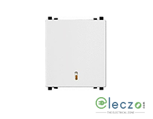 Schneider Electric ZENcelo DP Switch 32 A, White, 2 Module, With Indicator