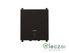 Schneider Electric ZENcelo DP Switch 32 A, Dark Grey, 2 Module, With Indicator