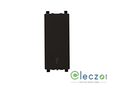 Schneider Electric ZENcelo Switch 6 A, Dark Grey, 1 Module, 1 Way