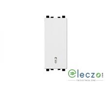 Schneider Electric ZENcelo Switch 6 A, White, 1 Module, 2 Way