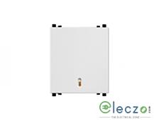 Schneider Electric ZENcelo Switch 20 A, White, 2 Module, 1 Way