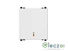 Schneider Electric ZENcelo Switch 20 A, White, 2 Module, 1 Way, With Indicator