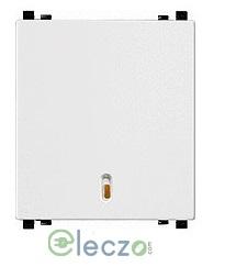 Schneider Electric ZENcelo Switch 6 A, White, 2 Module, 1 Way