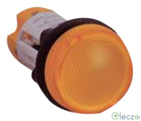 Siemens 3SB5 Indicating Lamp Amber, 110 V AC, Compact LED