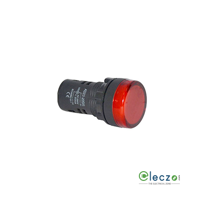 Siemens 3SB5 Indicating Lamp Red, 42-240 V AC / 42-220 V DC, Wide Band Compact LED