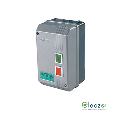 Siemens 3TW DOL Starter, 3 Phase, 415 V AC, 1 HP (0.75 kW), Coil Voltage 200-400 V AC 50Hz