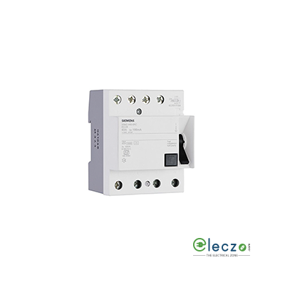 Siemens Betagard 5SM3 RCCB 100 A, 4 Pole, 100 mA, Type A