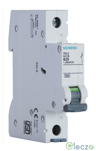 Siemens Betagard 5SL MCB 16 A, 1 Pole, 7.5 kA, C-Curve