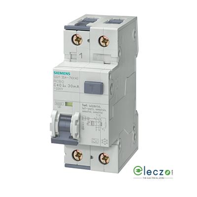 Siemens Betagard RCBO 25A, 1 Pole+N, 30 mA, Type AC