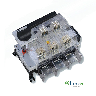 Siemens Sentron 3KL8 Switch Disconnector Fuse 100 A, 3 Pole, Open Execution, DIN Type, 690 V AC