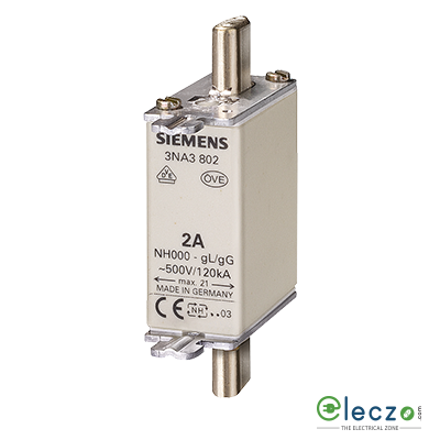 Siemens Sentron Sitor 3NE4 Fuse For Semiconductor Protection 250A, 800VAC