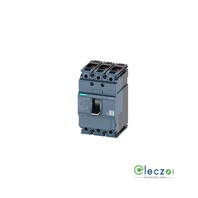 Siemens Sentron 3VA MCCB 40 A, 3 Pole, 16 kA, Fixed O/L & Fixed S/C Settings, Thermal Magnetic Trip Unit (FTFM)