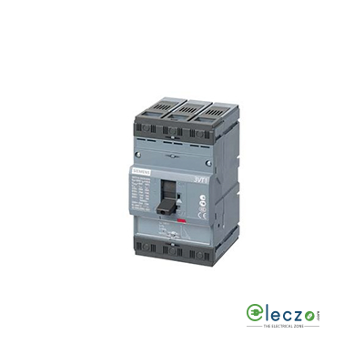 Siemens Sentron 3VT1 MCCB 40 A, 3 Pole, 25kA, Adjustable O/L & Fixed S/C Settings, Thermal Magnetic Trip Unit For Motor Protection