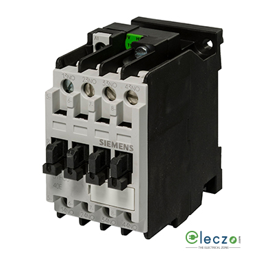 Siemens Sicont Plus 3TH3 Contactor Relay (Auxiliary Contactor) 10A, 3 NO + 1 NC, Wide Band 150-280VAC