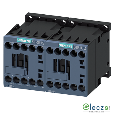 Siemens Sirius 3RH2 Latched Contactor Relay (Auxiliary Contactor) Screw Terminal 10A, 3 NO + 1 NC, 230VAC