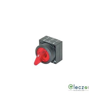 Siemens Sirius ACT Illuminated Push Button Selector Actuator 22 mm, Red, Maintained Contact, 2 Position