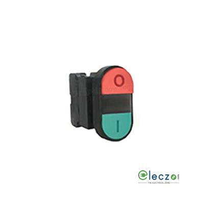 Siemens Sirius ACT Illuminated Twin Push Button Actuator 22 mm, Green & Red, Flush Type