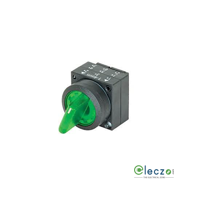 Siemens Sirius ACT Opaque Push Button Selector Actuator 22 mm, Green, Maintained Contact, 3 Position
