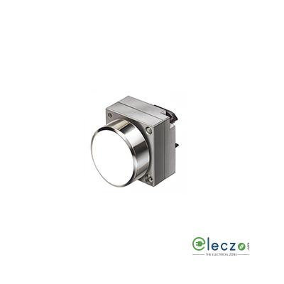 Siemens Sirius ACT Push Button Actuator 22 mm, White, Flush Type