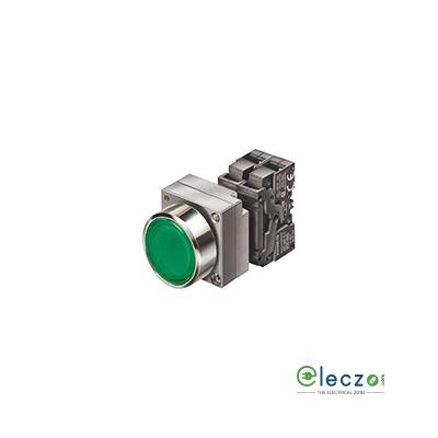 Siemens Sirius ACT Push Button Actuator 22 mm, Green, Flush Type