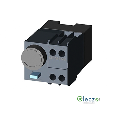 Siemens Sirius Pneumatic Timer Block, On Delay, 1 NO + 1 NC, 0.1 to 30 Sec, Front Mounted, Suitable For 3RT202 Contactor, Size S0