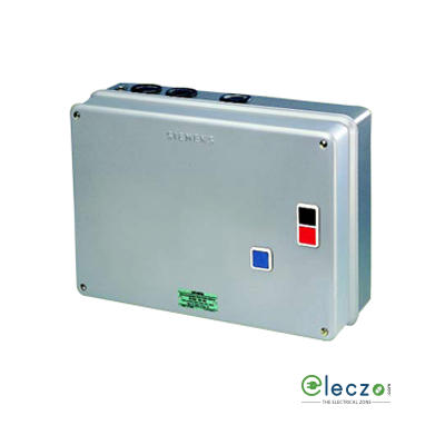 Siemens 3TE Automatic Star-Delta Starter, 3 Phase, 415 V AC, 10 HP (7.5 kW), Coil Voltage 415 V AC 50Hz